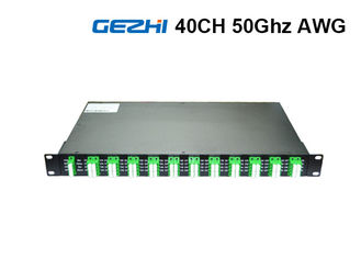 ประเทศจีน 50Ghz 80 Channel DWDM Mux Demux Rack Module Duplex Fiber  ITU Grid Wavelength ผู้ผลิต