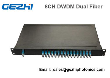 ประเทศจีน 100Ghz Fiber Optical DWDM Mux Demux Module with 1U Plug-in Rackmount ผู้ผลิต