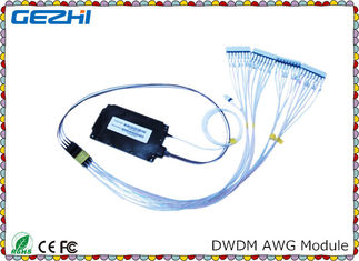 ประเทศจีน Passive product DWDM Mux Demux 100G 40CH Arrayed Waveguide Grating for WDM Network ผู้ผลิต
