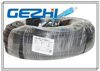 ประเทศจีน Fiber To The Home Optical Patch Cable 1 Core LSZH SC / SC LSZH 300M Black Steel โรงงาน