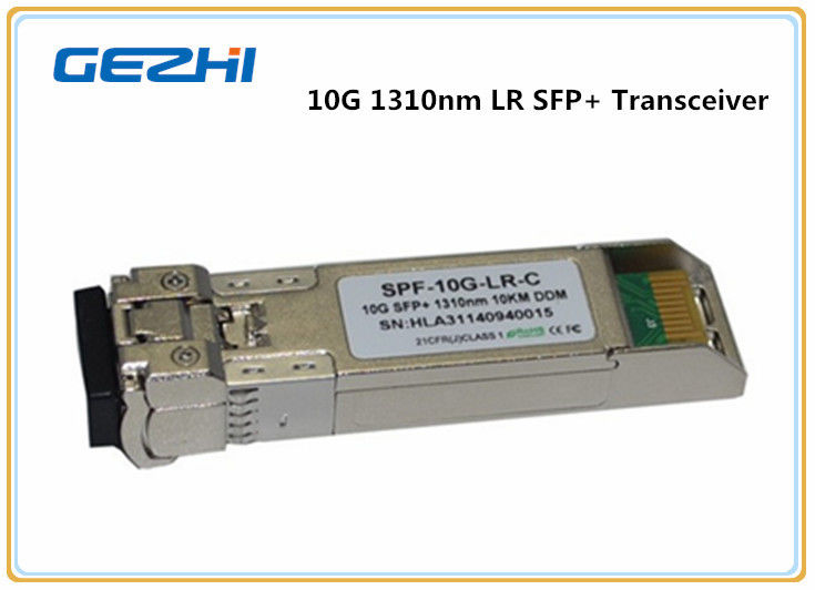 10GB LR 10KM 1310nm Optical Transceiver Finisar FTLX1471D3BCL SFP