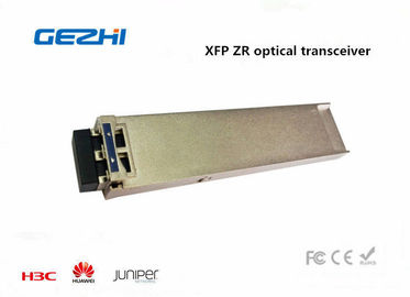 ประเทศจีน 80KM 1550nm SM XFP 10g Optical Transceiver , Cisco compatible fiber optic transceiver ผู้จัดจำหน่าย