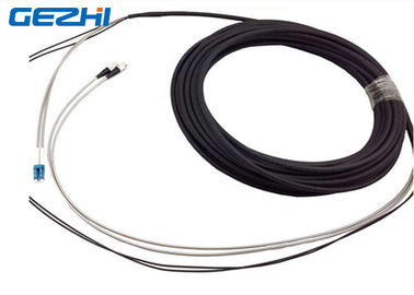 ประเทศจีน DFC - DLC 2 Core FTTA Fiber Optic Patch Cord , White And Black Single Mode Pigtail ผู้จัดจำหน่าย