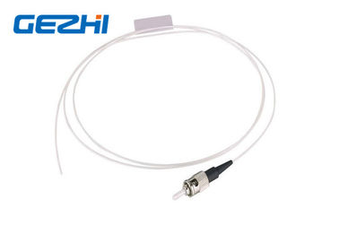 ประเทศจีน ST UPC SM SX Fiber Optic Pigtail Single Mode Simplex White Cable for FTTB ผู้จัดจำหน่าย